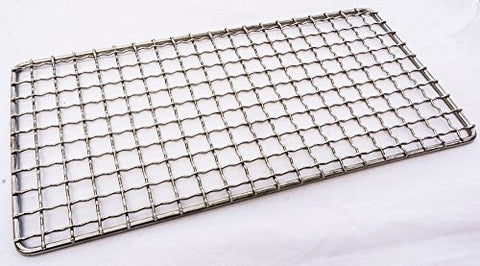 Bushcraft Grill - Welded USA Stainless Steel High Strength Mesh (Campfire Rated)