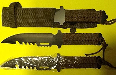 Lot of 3 Survival Knives Emergency Doomsday Prepper Bug Out Bag Hunting Disaster