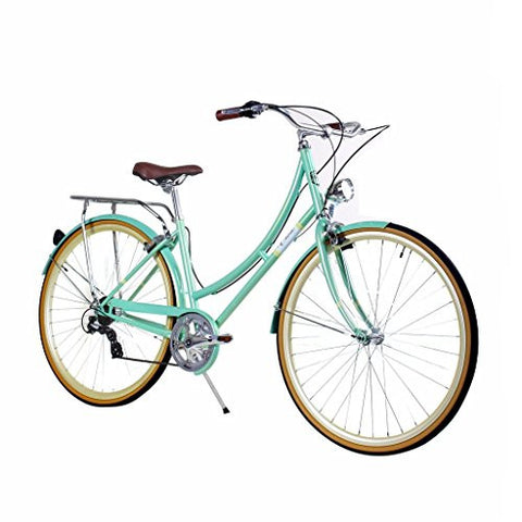 Zycle Fix 44cm Bike 7 Speed Gear Women Civic Series Bicycle - MINTY
