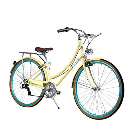 Zycle Fix 44cm Bike 7 Speed Gear Women Civic Series Bicycle - SUMMER