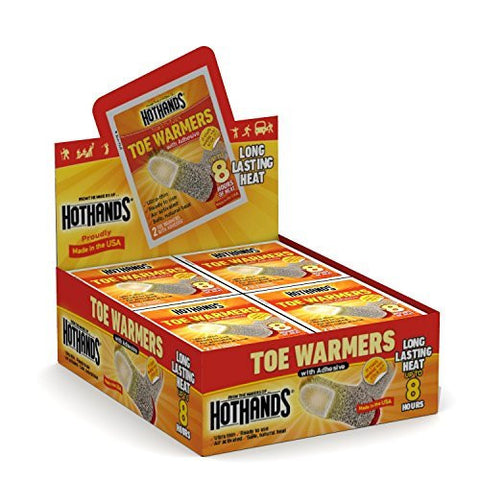 HotHands Toe Warmers (8 Hours of Heat each Pair) Value Size Pkg, 10 pairs with a Free Thermal Blanket... by HotHands