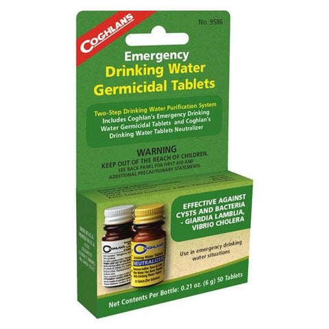 Coghlans 9586 Two Step Drinking Water Treatment