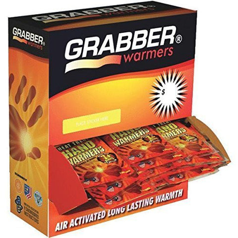 120 Pair Hand Warmers Pack of 120 by Grabber Performance