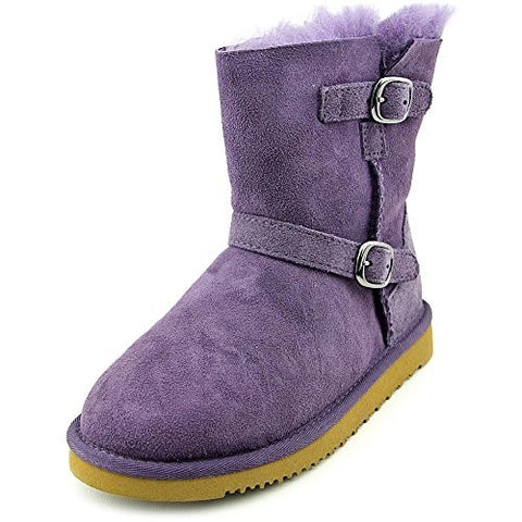 Kirkland Signature Shearling Youth US 4 Purple Ankle Boot UK 3