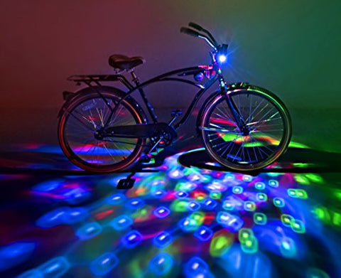 Brightz, Ltd. Cruzin Brightz(TM) RGB, Color Changing LED Bicycle Accessory