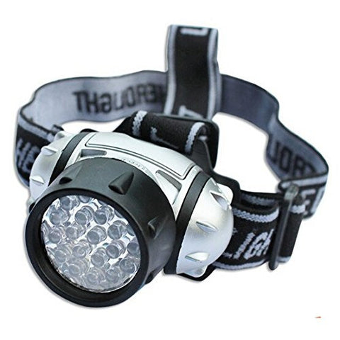 (HQ Product) 19-LED Headlight 19 LEDs Bulb 4-Mode Headlamp Flashlight Torch Lamp