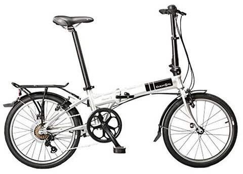 Dahon Mariner D7 Folding Bike, Brushed