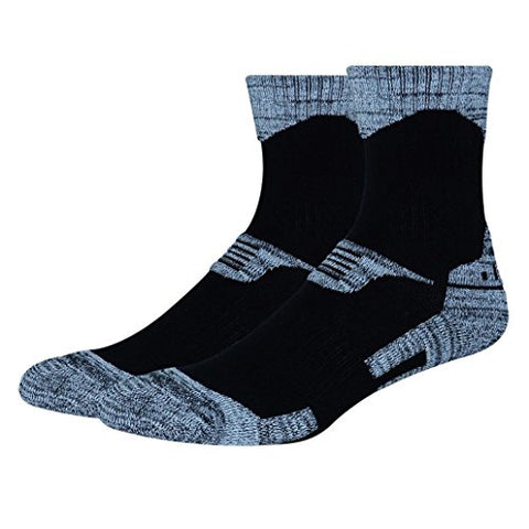 minishop659 Unisex Thicken Breathable Socks Winter Outdoor Athletic Sports Socks - Men's Black L