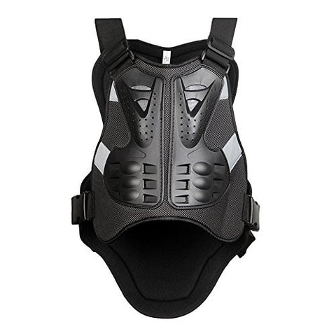 CS Armor Motorcycle Vest, Back Armor, Back Support