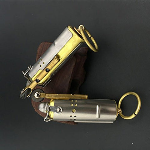 Trench Lighter Replica - Solid Brass - WWI - WWII - Vintage Style