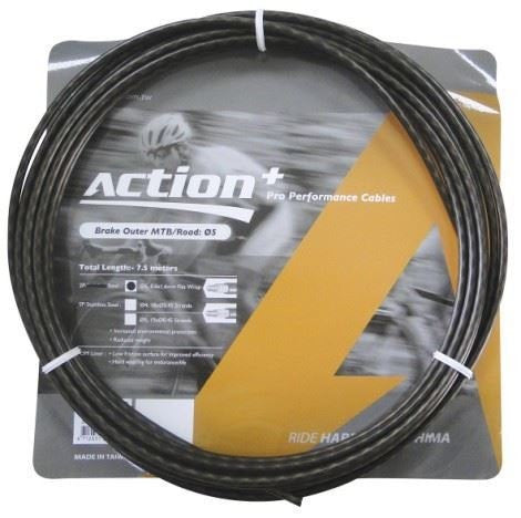 Ashima ACTION PLUS GEAR OUTER CABLE MTB 5MM 7.5M