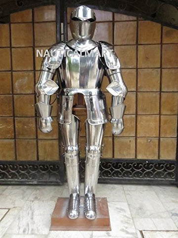 16th CENTURY TRADITIONAL SPANISH FULL SUIT OF ARMOR BY NAUTICALMART