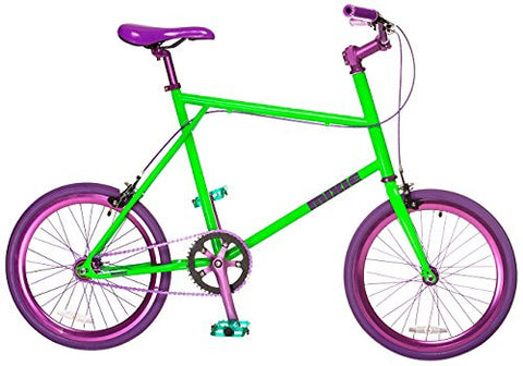 MIXIE Crisscross Joker Gear Bike, 17-Inch/One Size, Green