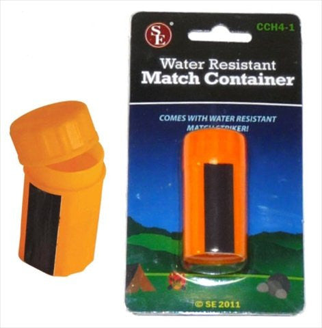 CCH4-1 Survival Water Resistant Match Box