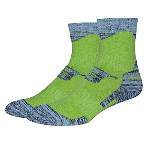 minishop659 Unisex Thicken Breathable Socks Winter Outdoor Athletic Sports Socks - Women's Green M
