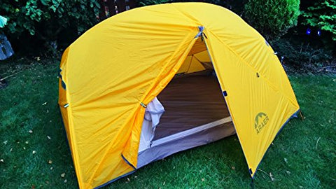 C&ing Tent ARAER 3 Person Tent Waterproof Winter Tent Double Layers Family Tent UV Protection Sun : uv tex 5 tent - memphite.com