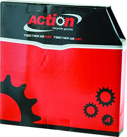 ACTION Slick Lined 30m Box Housing Brake, Black
