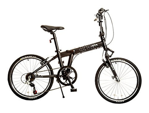 "Bike USA Ubike AllRounder 7-Speed Folding Bicycle with 20"" Wheel, 10""/One Size"