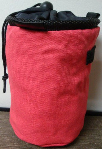 Chalk Bag for Gymnastics, Climbing, and Weight Lifting (Pink)