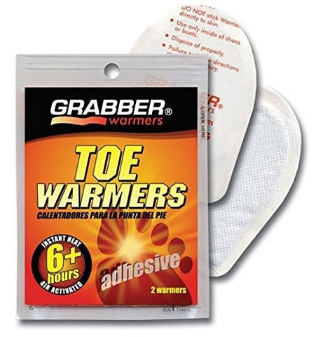 (40) TWES- Toe Warmers Grabber Single Pack 2 Per Package (40)
