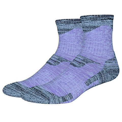 minishop659 Unisex Thicken Breathable Socks Winter Outdoor Athletic Sports Socks - Women's Purple M