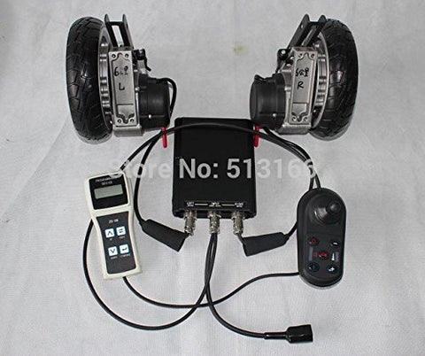 "24V 180W 8"" Brushless Electric Wheelchair Conversion Kits with Electric Magnet Braking"