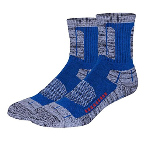 minishop659 Unisex Thicken Breathable Socks Winter Outdoor Athletic Sports Socks - Blue One Size Men's
