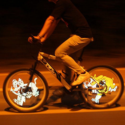 (HQ Product) 216 LED Programmable DiY Bicycle Wheel Light Bike Wheel Spoke Light