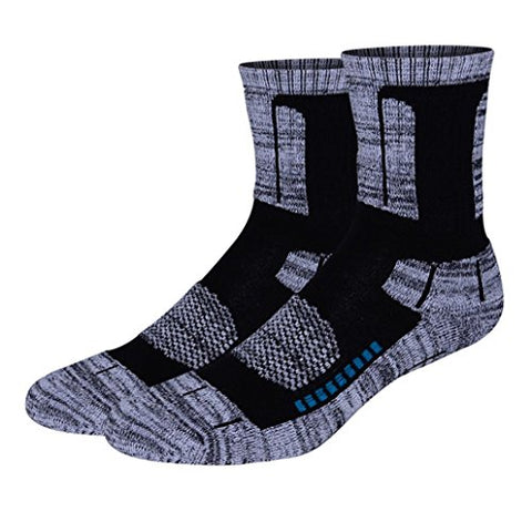 minishop659 Unisex Thicken Breathable Socks Winter Outdoor Athletic Sports Socks - Black One Size Men's