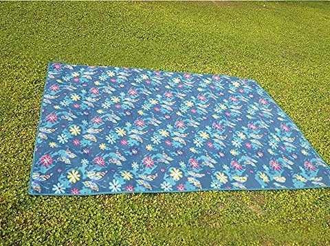 Allnice Folding 150*200cm Picnic Blanket Waterproof Camping Grass Mat Large Portable Bed