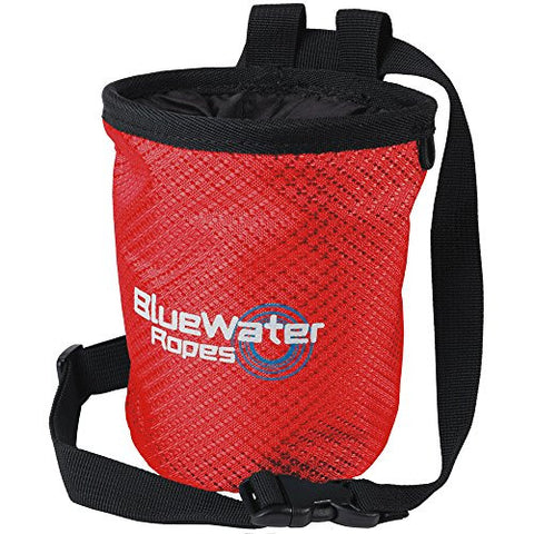 BlueWater Ropes Spark Chalk Bag - Red
