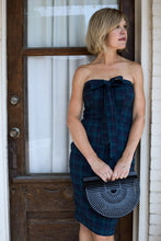Double Trouble Dress in Holiday Plaid Stretch