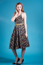 Day at the Vineyard Dress in Martini Time Print