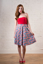 Market to Market Skirt in Beach Umbrella Print