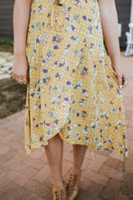 SALE - Pretty in the City Dress in Sunny Floral Polka Dot - Original Price $156