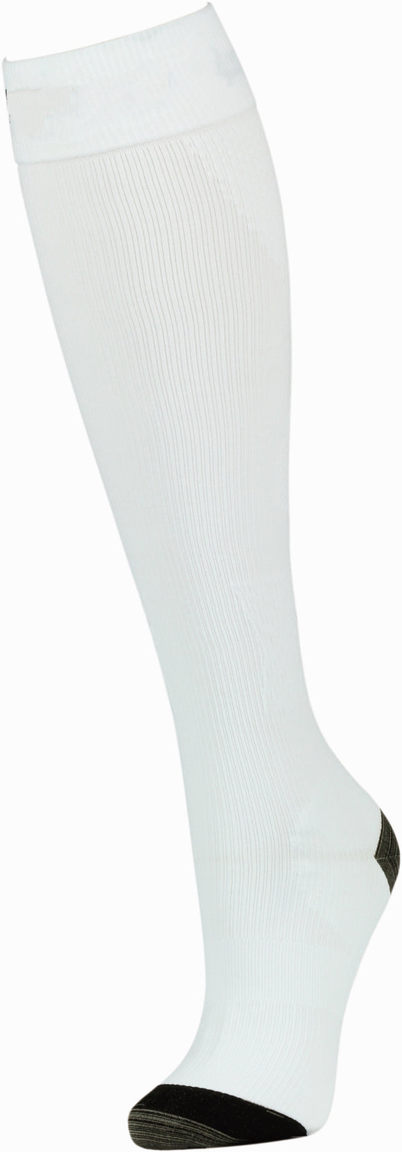 Athletic Compression Socks 15-20 mmHg: Opal White