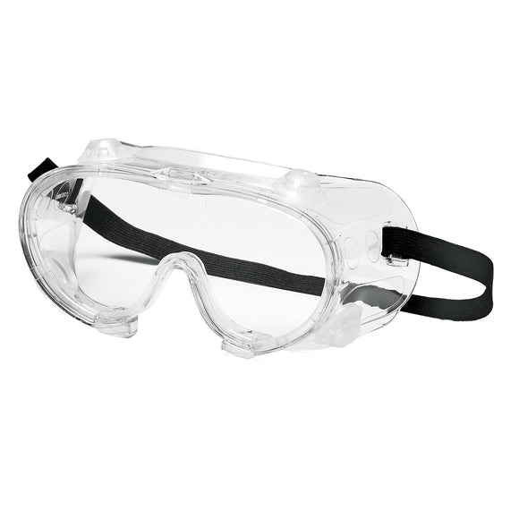 Protective Goggles with Elastic Strap, 20 Pieces/Box