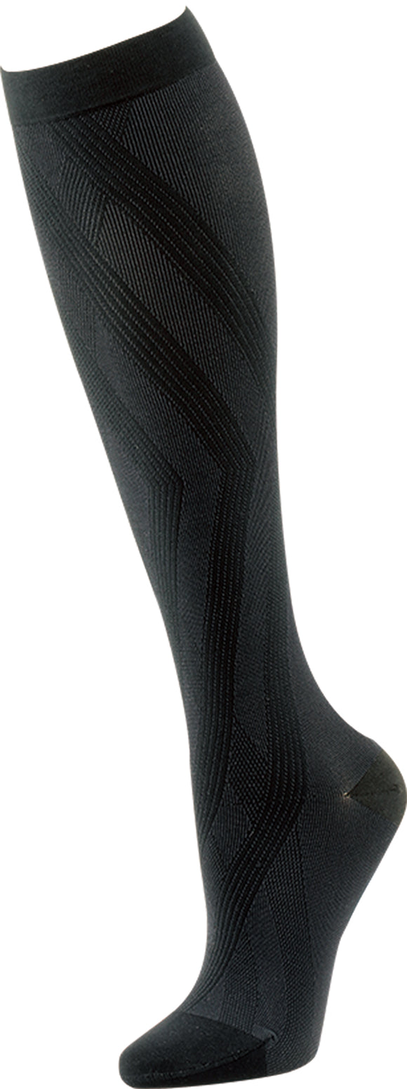 Black Athwart: Medical Compression Socks 20-30 mmHg