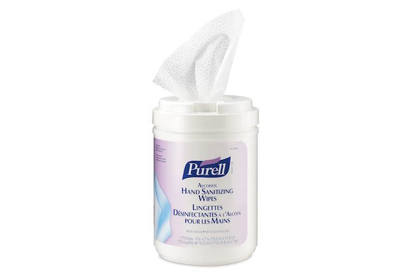 Purell Disinfecting wipes, 6 canisters