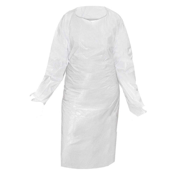 Ronco Coverme Isolation Gowns - 50 units (boxed)