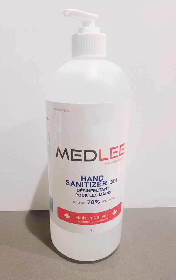 Hand Sanitizer Gel, 12X1Litre (Boxed)
