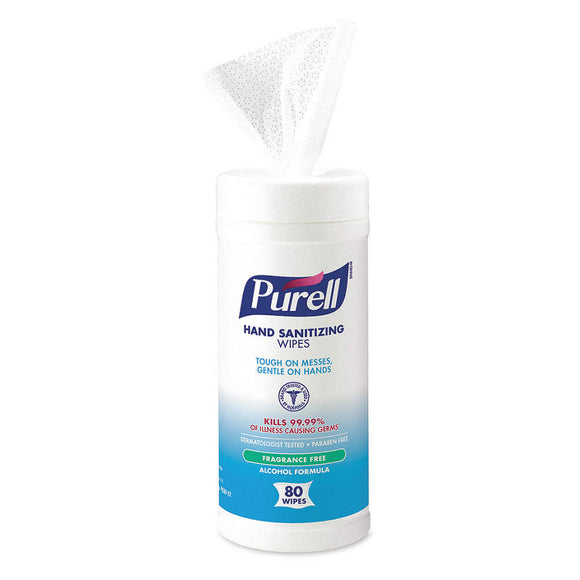 Purell Disinfecting wipes, 12 canisters