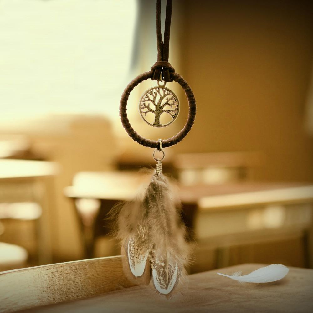 Enchanted Forest Mini Dreamcatcher Handmade - Zen Worlds