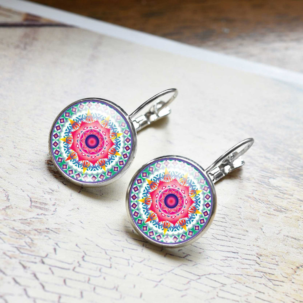 Mandala Earrings India 2017 - Zen Worlds