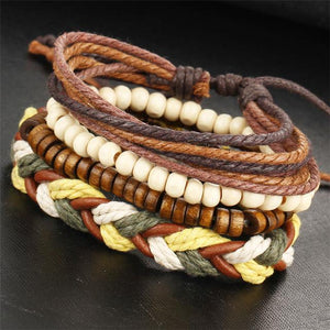 Multilayer Leather Bracelets - Zen Worlds