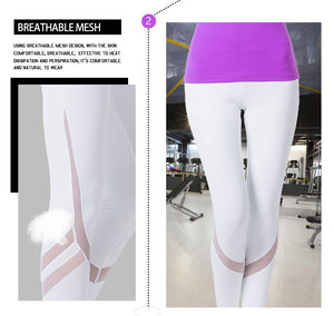 Yoga Leggings Tight Mesh - Zen Worlds