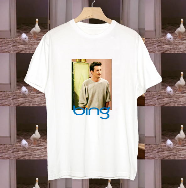 Chandler Bing Friends T-shirt Bing Funny Retro