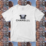 CHANEL PARROT MEME T SHIRT FRONT LEFT