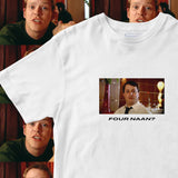 four naan peep show mark corrigan t shirt front left apparel