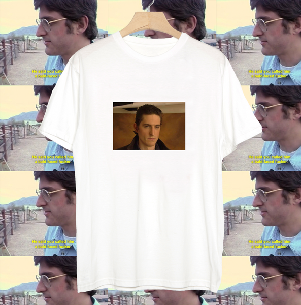 Louis Theroux t-shirt Mysterious Screenshot tee
